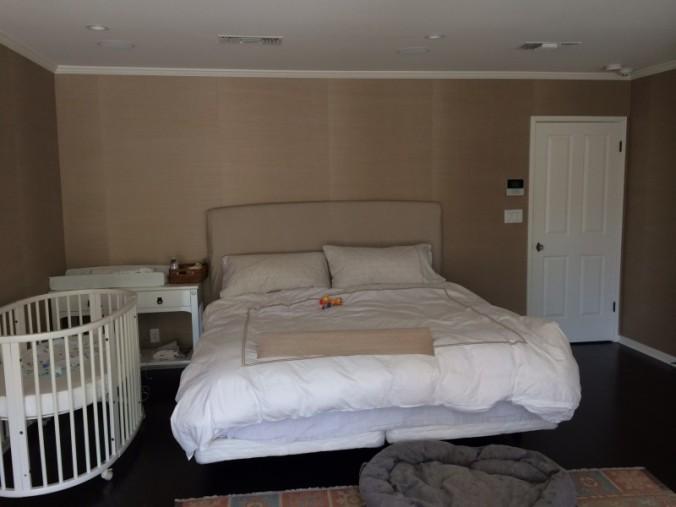 Antes y Después:  Un dormitorio ecléctico y tradicional