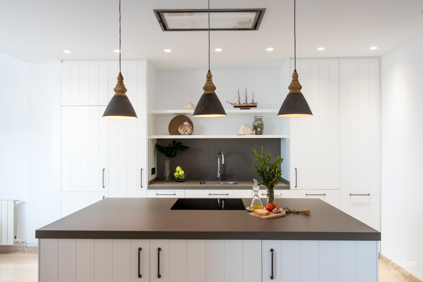 Diseña tu isla de cocina ¿Cuánto espacio necesitas?